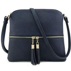 Handbags - TASSEL CROSSBODY PURSE